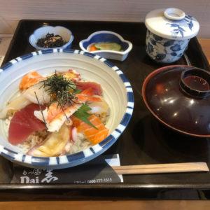 海鮮丼 マグロ丼セット