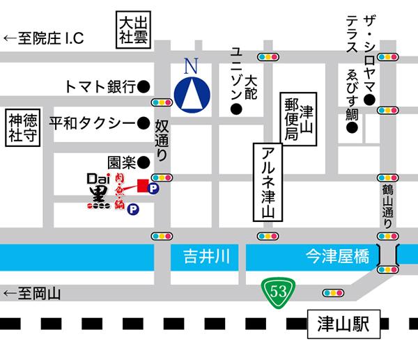 Dai黒 地図